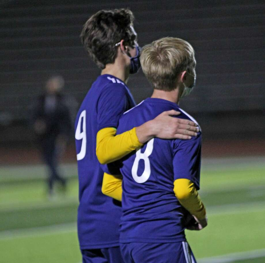 The Bad Axe boys soccer team's dominant season came to an end on Thursday night as the Hatchets fell to the Leland Comets 1-0 in a regional championship game at Mount Pleasant High School. Photo: Mark Birdsall/Huron Daily Tribune