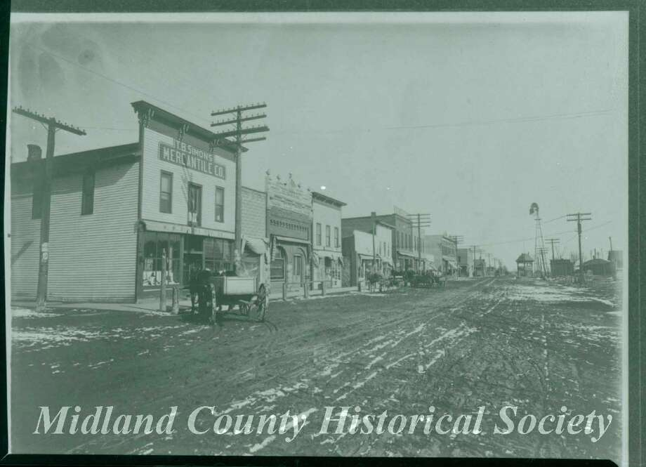 T.B. Simons Mercantile Co. on Main Street in Coleman. (Photo provided)
