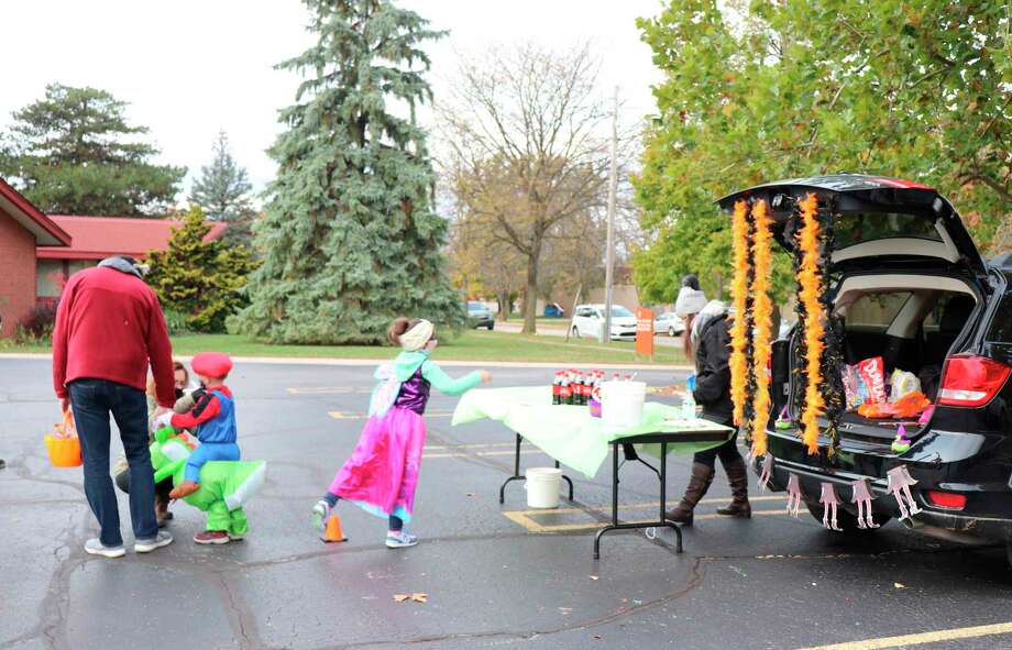 St. John's Lutheran Church & School recently held their annual Trunk or Treat Sunday, Oct. 25 in the church parking lot. (Photo Provided)