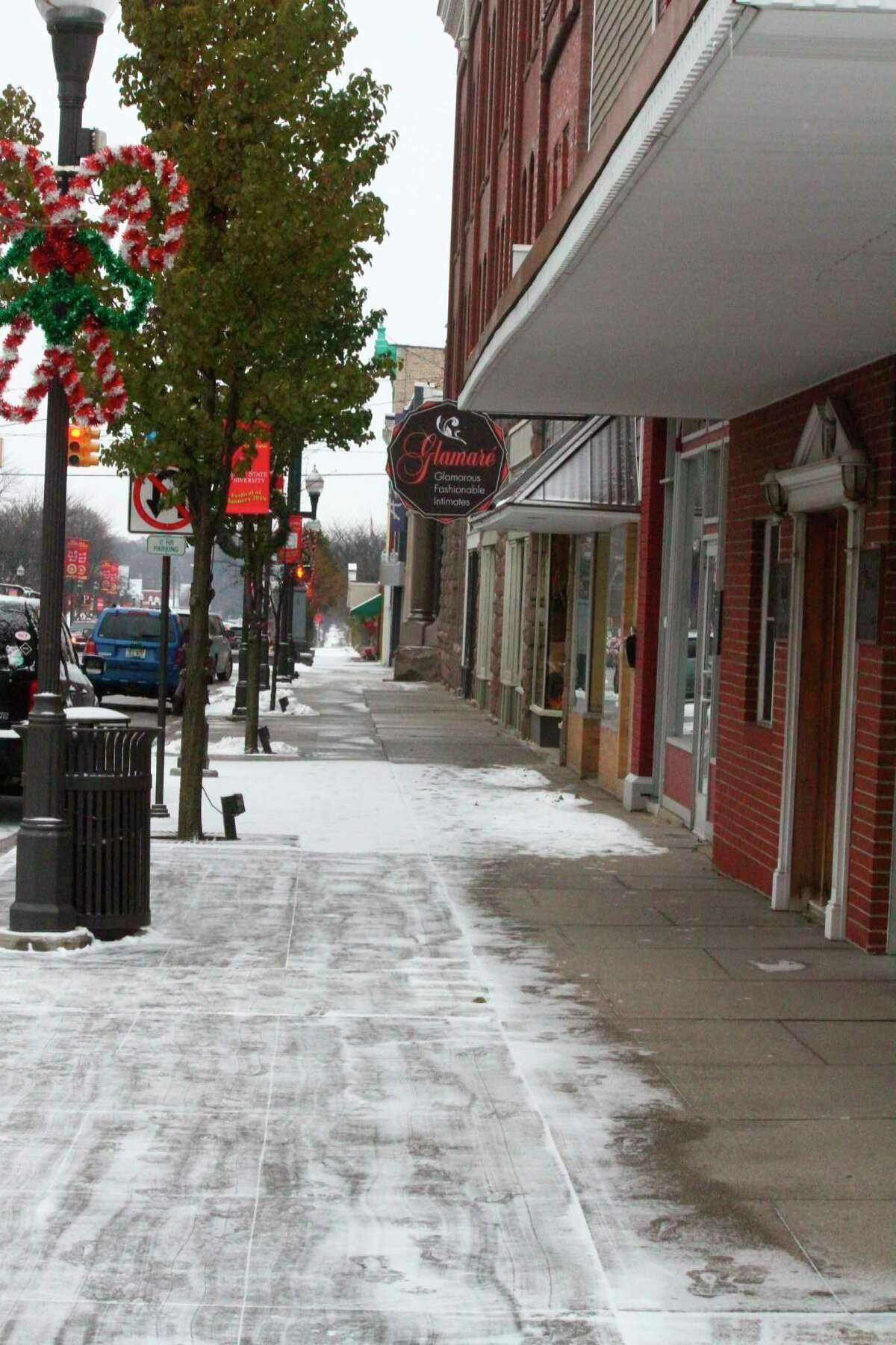 With virtual learning as an option, area school districts are pondering the future of snow days. Currently, schools in the state of Michigan are allotted six snow days. (Pioneer file photo)