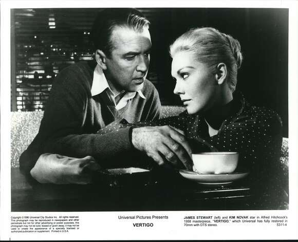 Vertigo (1958) Available on Amazon Prime July 1 Photo: Universal City Studios, Inc.