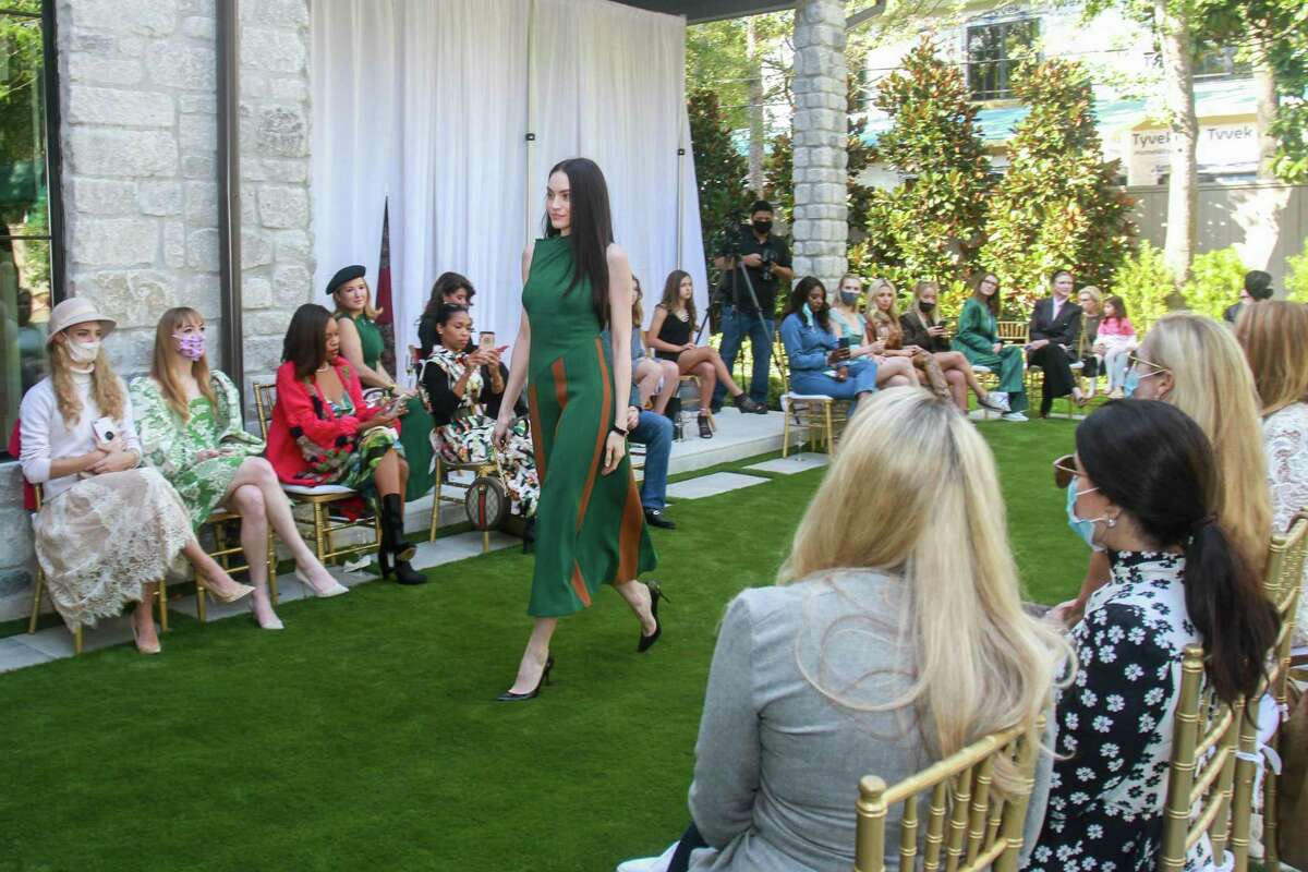 The runway fashion show hosted by Amir Taghi in Houston on October 24, 2020.