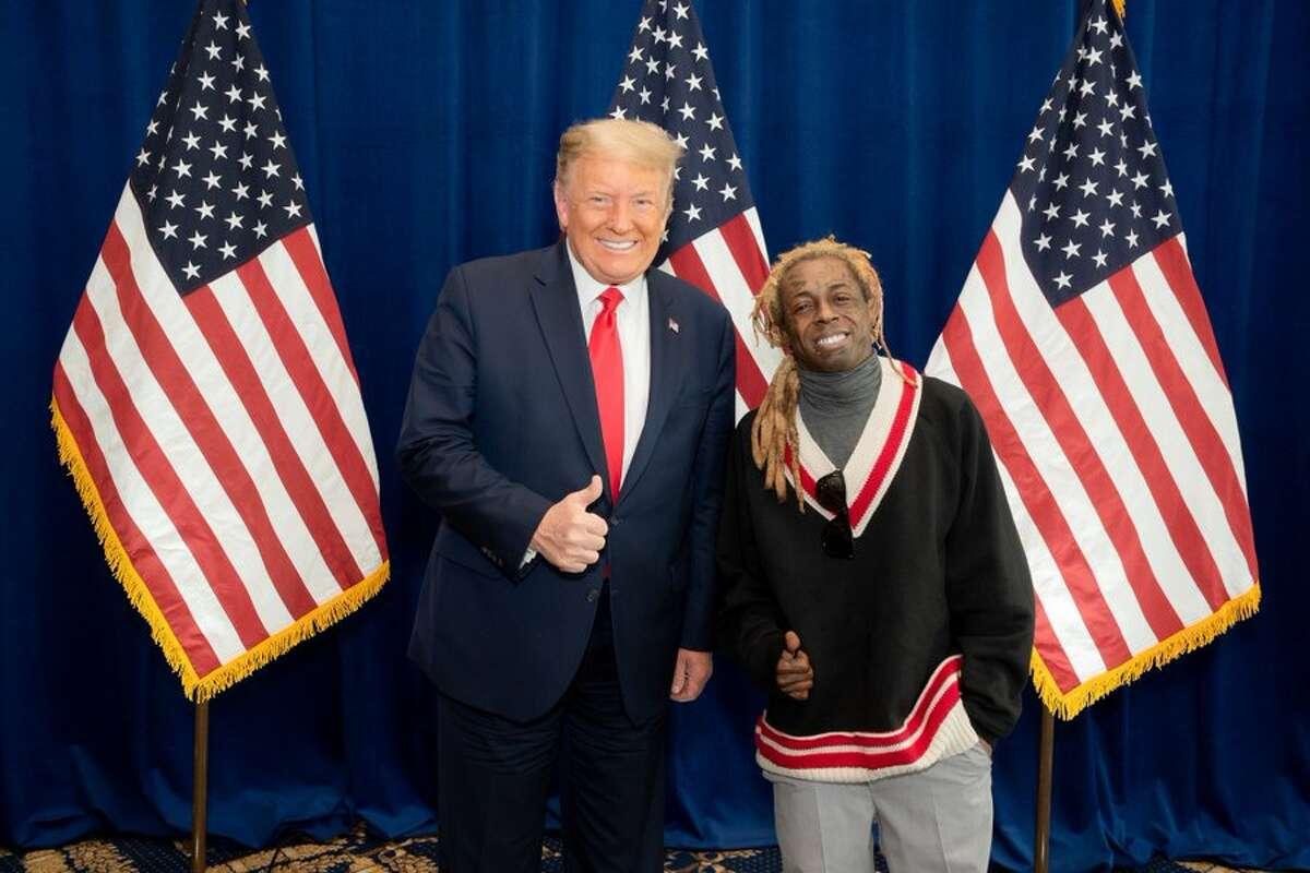 Rapper Lil Wayne endorses Donald Trump for President.
