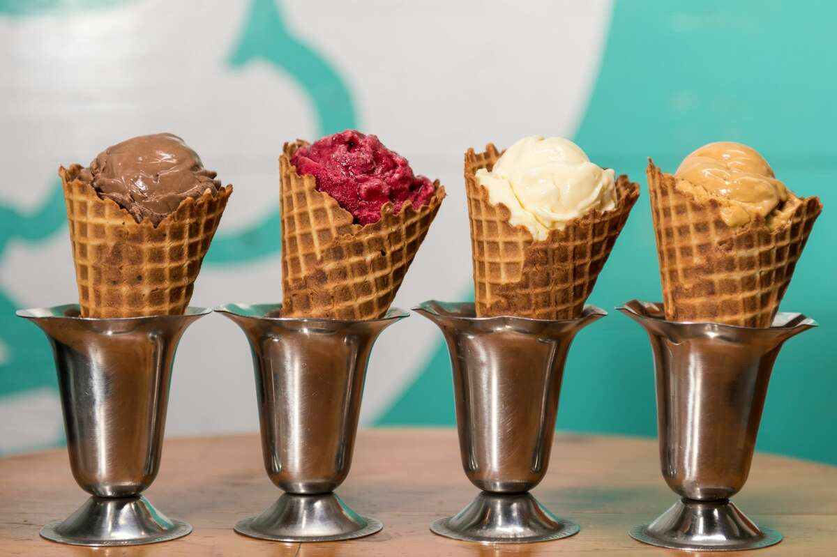 Choose from 14 flavors at Fat Cat Creamery in Garden Oaks.