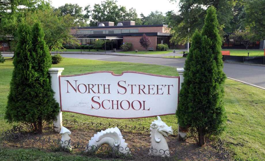 Exterior of the North Street School building in Greenwich, Tuesday, Aug. 7, 2012. Photo: File / Bob Luckey / Hearst Media Connecticut / Greenwich Time