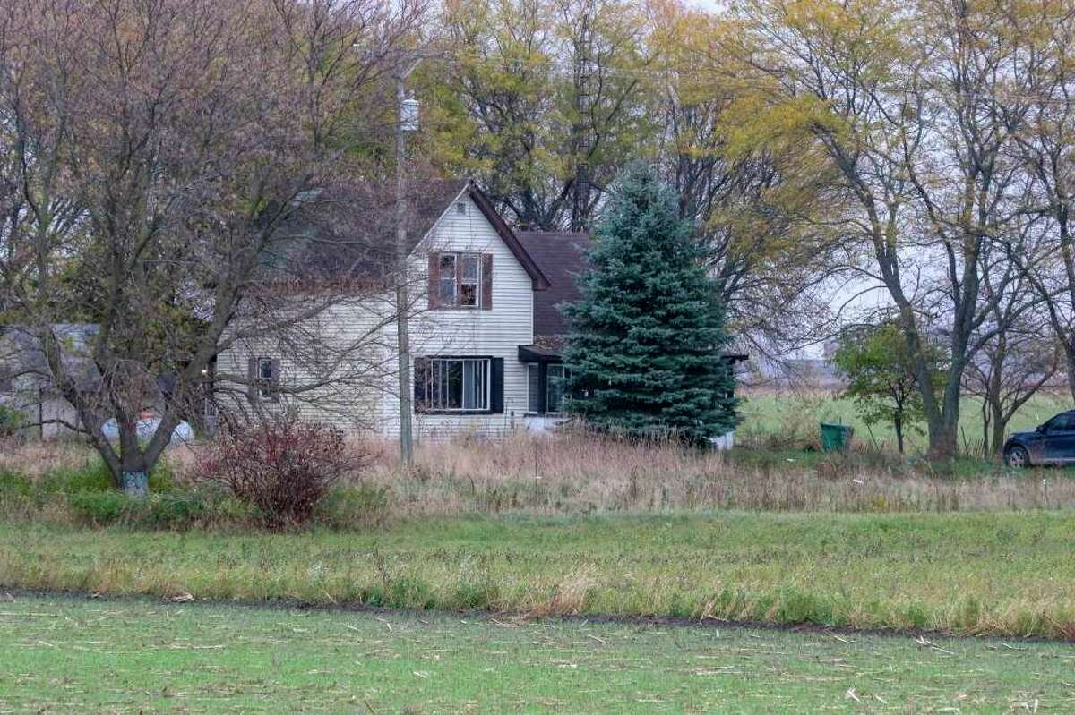 The home outside of Bad Axe that the FBI and MSP raided on Thursday. Bad Axe residents expressed shock at the news of an arrest linked to white supremacy, though some were not surprised. (Tribune File Photo)