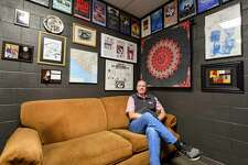 Executive director Tim Jebsen in his office Wednesday, Oct. 28, 2020 at Midland Community Theatre. Jacy Lewis/Reporter-Telegram