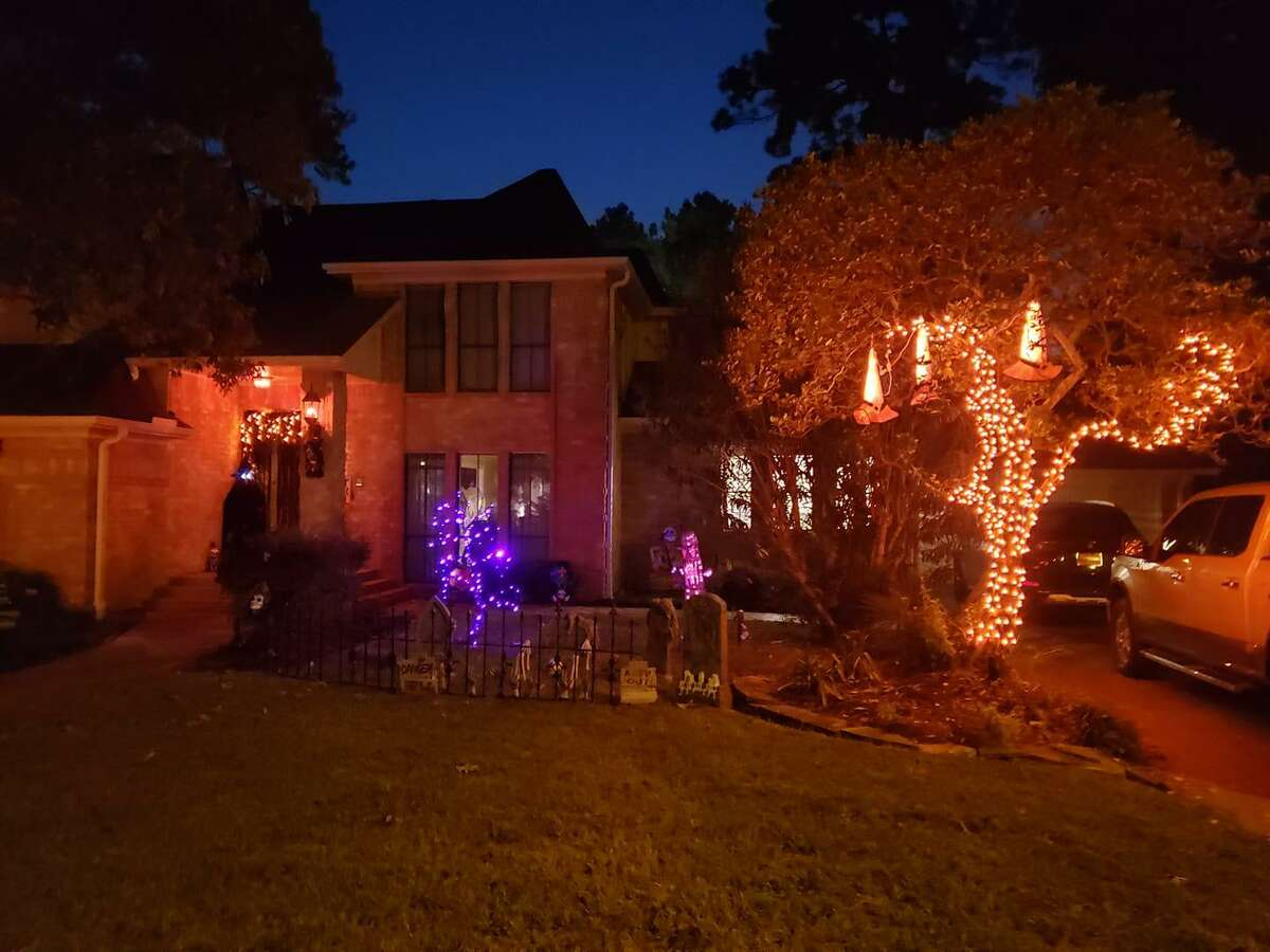 Area resident Melisa Hartgrove fully decorated her home for the month of October in celebration of Halloween.