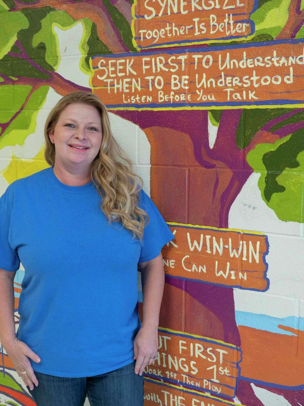 Angela Turley, Bonham Elementary 5th grade teacher. 10/30/2020 Tim Fischer/Reporter-Telegram