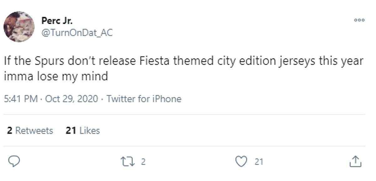 @TurnOnDat_AC: If the Spurs don't release Fiesta themed city edition jerseys this year imma lose my mind