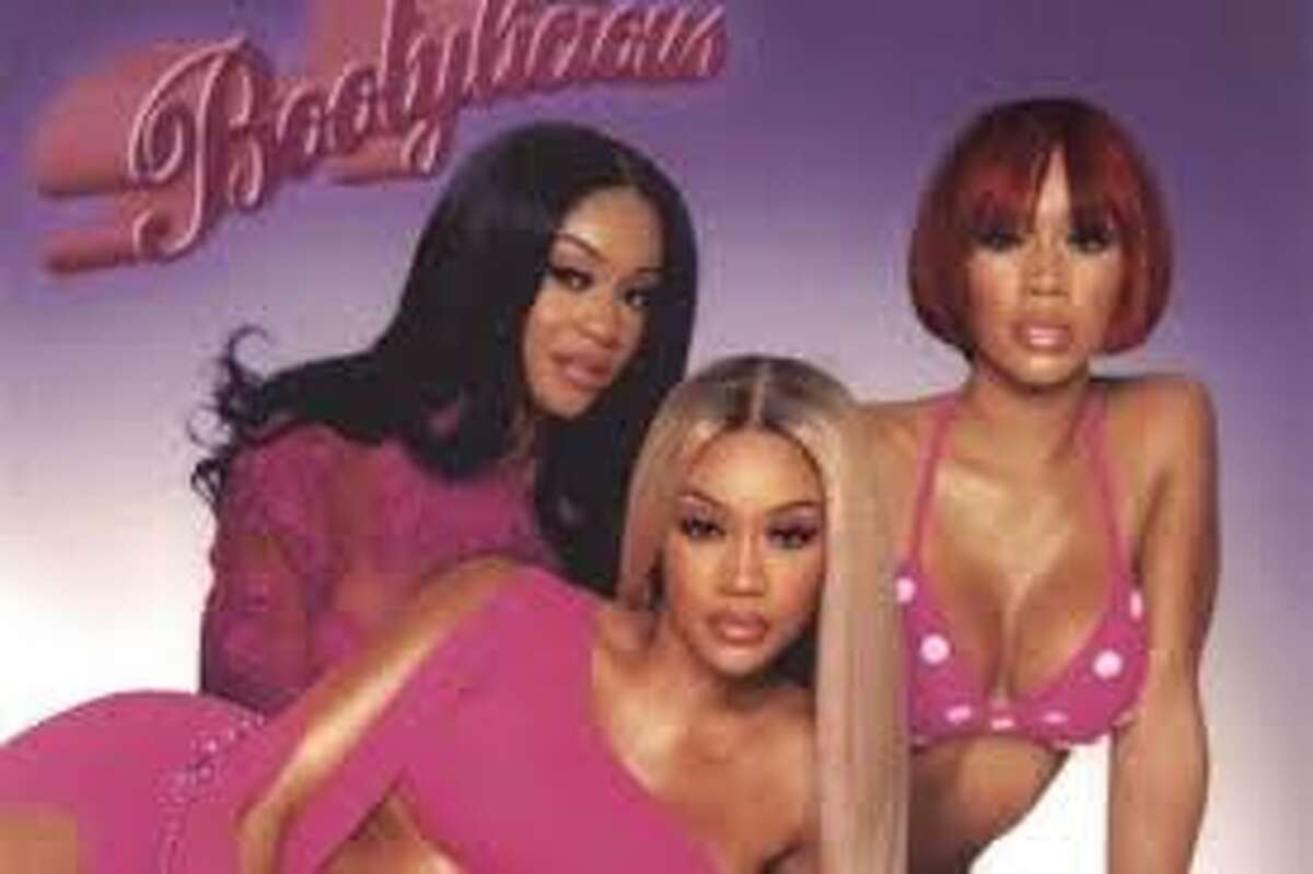 Artist Saweetie dresses up as Destiny's Child for Halloween.