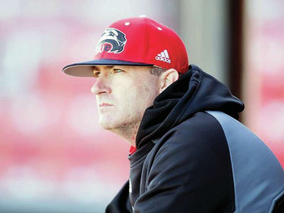 SIUE baseball coach Sean Lyons and his team are continuing fall practice and are working towards what they hope will be a full 2021 season. Photo: SIUE Athletics