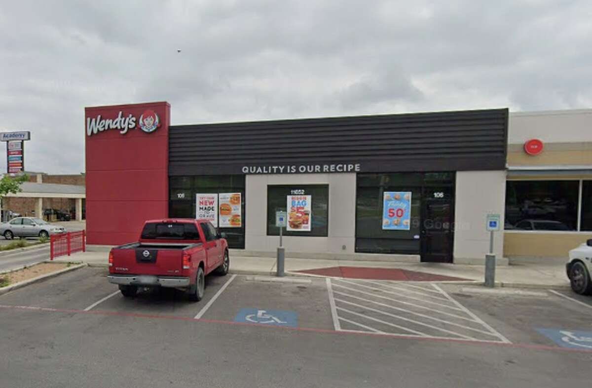 Wendy's: 11652 Bandera RoadDate: 10/29/2020 Score: 85Highlights: There were open packages of pre-cooked chicken patties on the floor of the walk-in cooler. The food permit posted had expired in May 2019. The hand sink was missing paper towels.