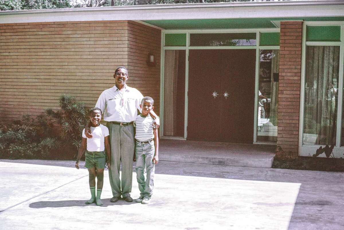 Chase poses with his sons, Anthony and John Jr., in 1959.