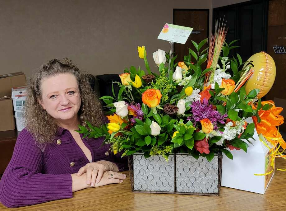 Carol McGill retired from the Plainview Herald on Oct. 30, 2020 after a career that spanned 42 years. Photo: Carmen Ortega/Plainview Herald