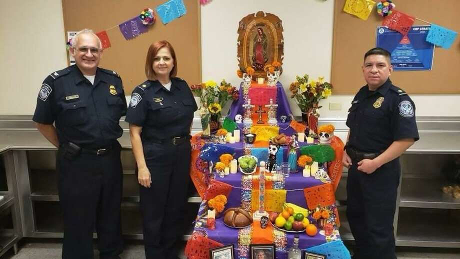 U.S. Customs and Border Protection officers are reminding travelers about certain prohibited agricultural items for Día de los Muertos. Photo: Courtesy Photo /U.S. Customs And Border Protection