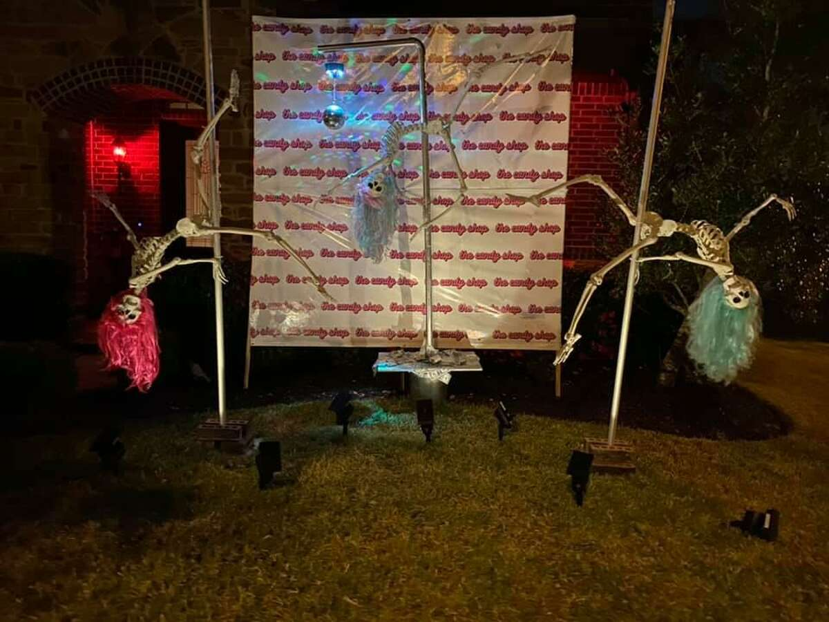 A Richmond homeowner got a letter from her homeowner's association after her creative Halloween decorations elicited some complaints from neighbors.