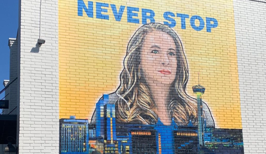An Icon In Her Own Right New Mural On Broadway Features Spurs Assistant Coach Becky Hammon