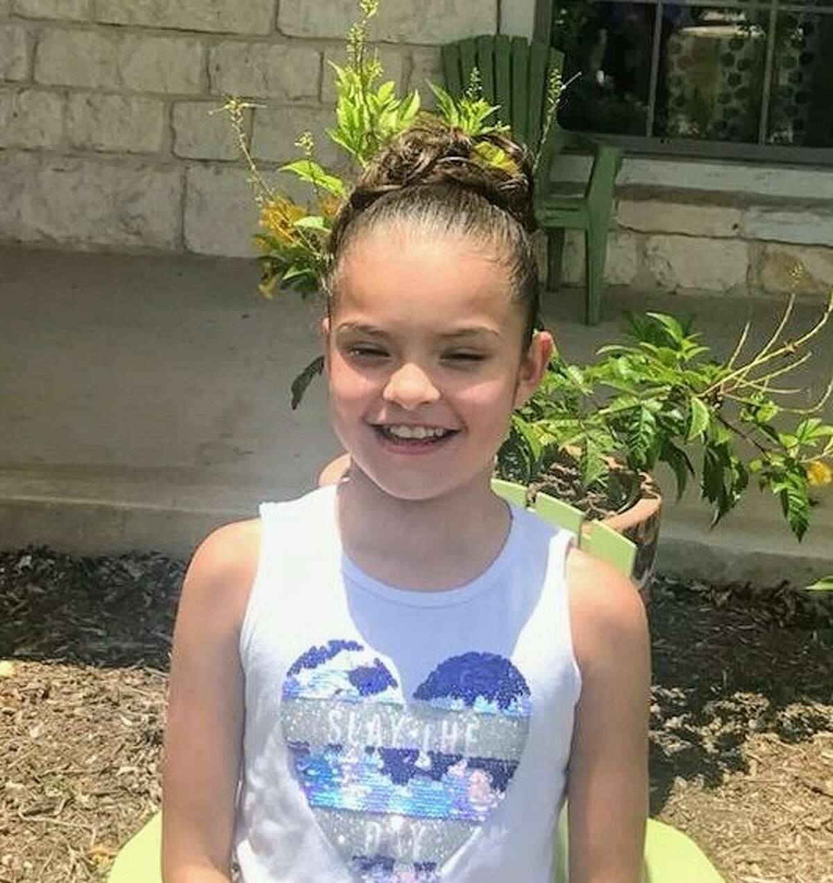 Eleven-year-old Haileyis a curious, active, and playful young girl. She loves to be around others and isn't afraid to show it.