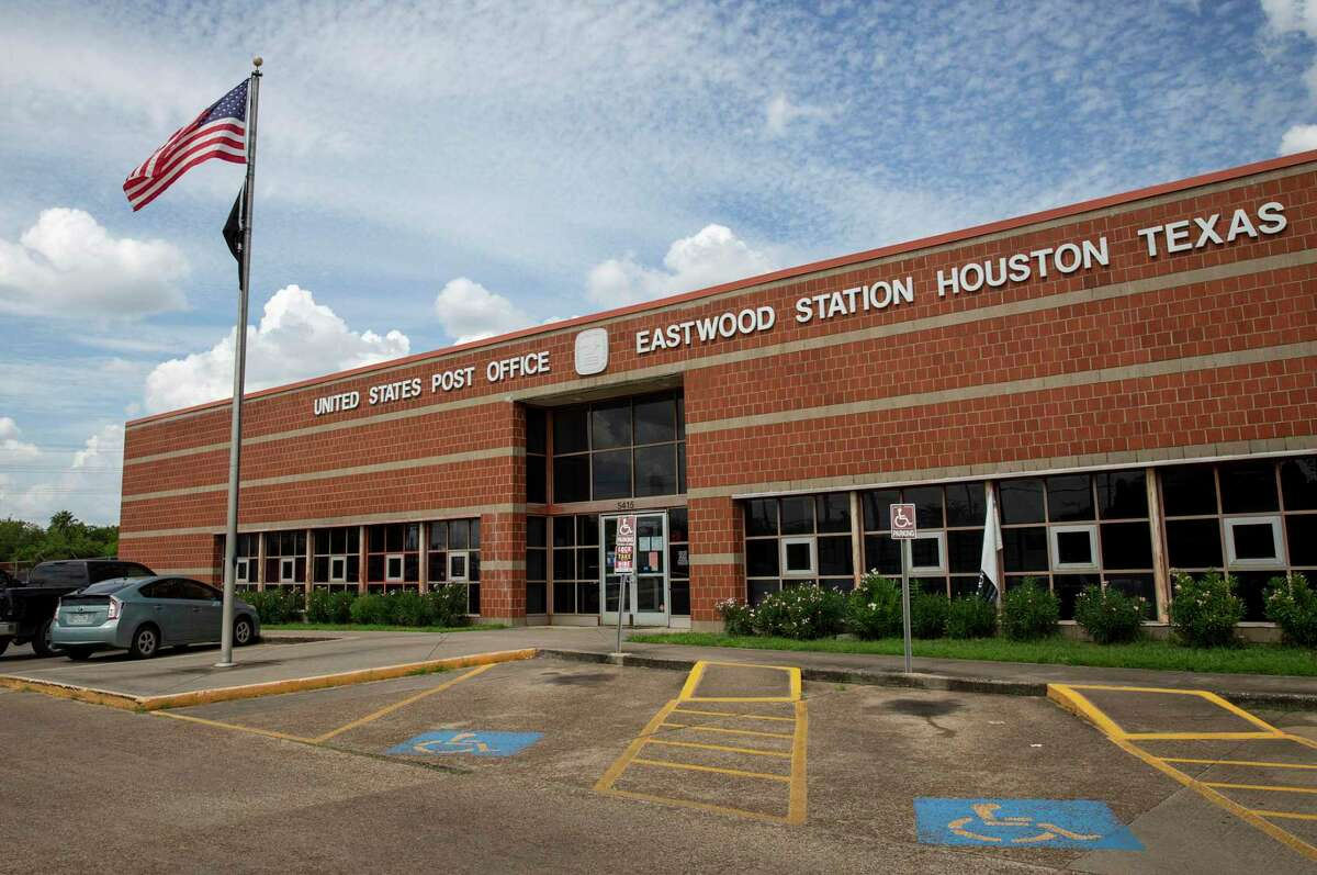 The Eastwood Staton United States Post Office on Wednesday, Sept. 16, 2020, in Houston.