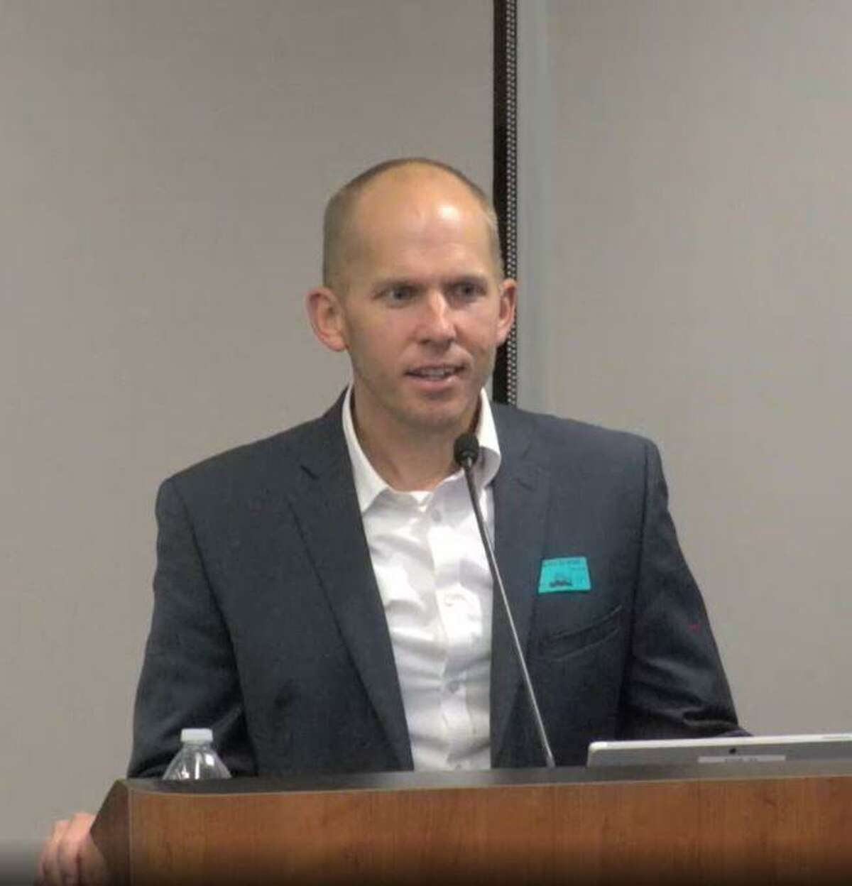 Justin Myers, the architecture firm's representative, ran through a series of 25 slides, each detailing the intricate problems and issues at each of the four facilities, finishing off with the potential cost for all recommendations, which surpasses $13.75 million.