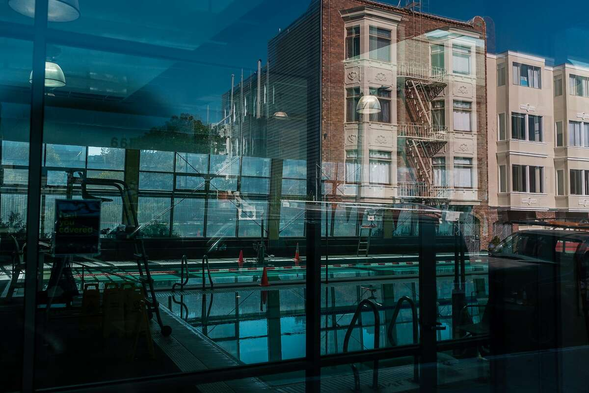 Indoor swimming pools like this one at the YMCA in North Beach will not be allowed to reopen next week as scheduled.