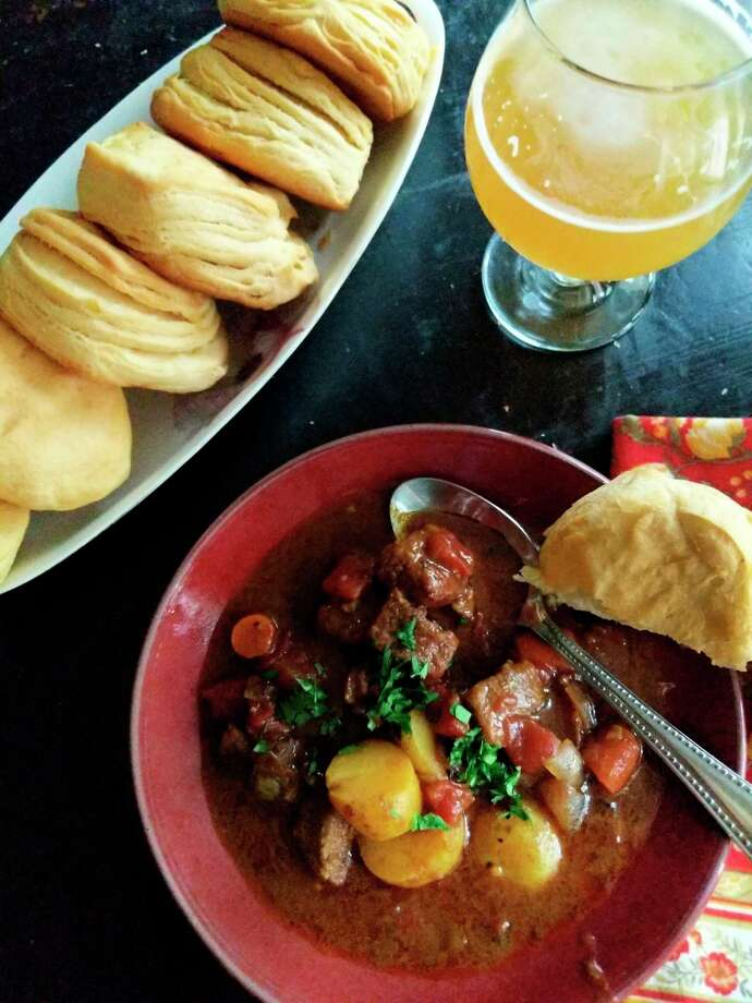 Curried beef stew is a warm, hearty dish when the weather turns cool. (Gretchen McKay/TNS) / Pittsburgh Post-Gazette