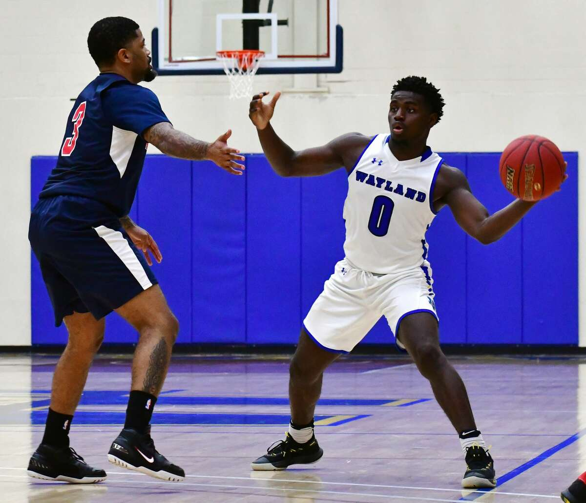 Wayland Baptist rolled past Arlington Baptist 96-52 to open the men's college basketball season on Friday afternoon, Oct. 30, 2020 in the Hutcherson Center.