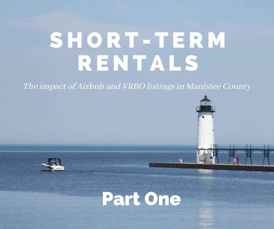 Short-term rentals do bring increased investment to Manistee, but may create long-term issues with housing. Photo: Graphic/Erin Glynn/News Advocate