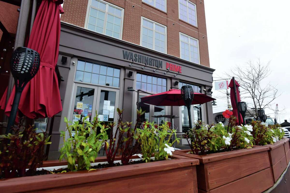 Washington Prime restaurant Friday, October 30, 2020, in Norwalk, Conn. Washington Prime, Norwalk Washington Prime is open Thanksgiving day between noon and 5 p.m. offering a three-course special for dining in or takeout. Reach the restaurant by phone at 203-857-1314. More information here.