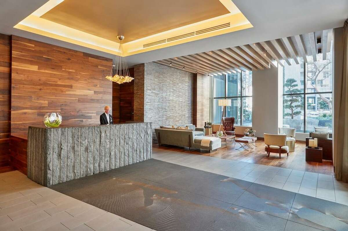 NEMA is a luxury, high-rise building on 10th and Market Street with a 24-hour doorman.