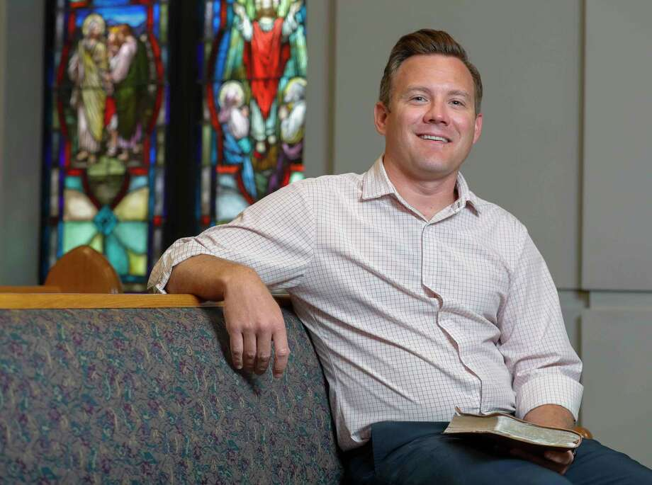 First Methodist Conroe's new Senior Pastor Daniel Irving recently moved to Conroe after leading Huntsville Methodist Church for the past three years.. Photo: Jason Fochtman, Houston Chronicle / Staff Photographer / 2020 © Houston Chronicle