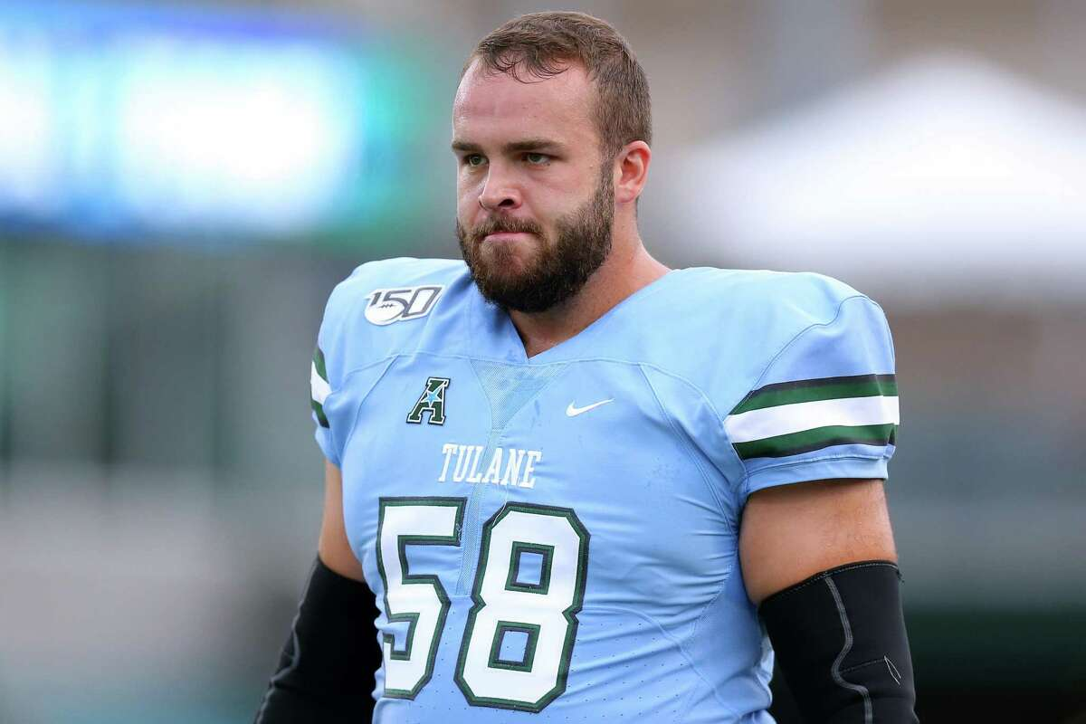 State native Christian Montano, shown here at Tulane, is working out at the new NFL Alumni Academy in Ohio with hopes of signing with a team.