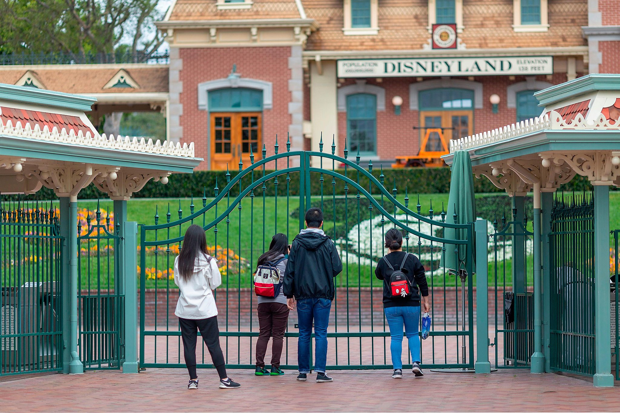 Disneyland fans waiting hours online for a chance to buy a theme park ticket