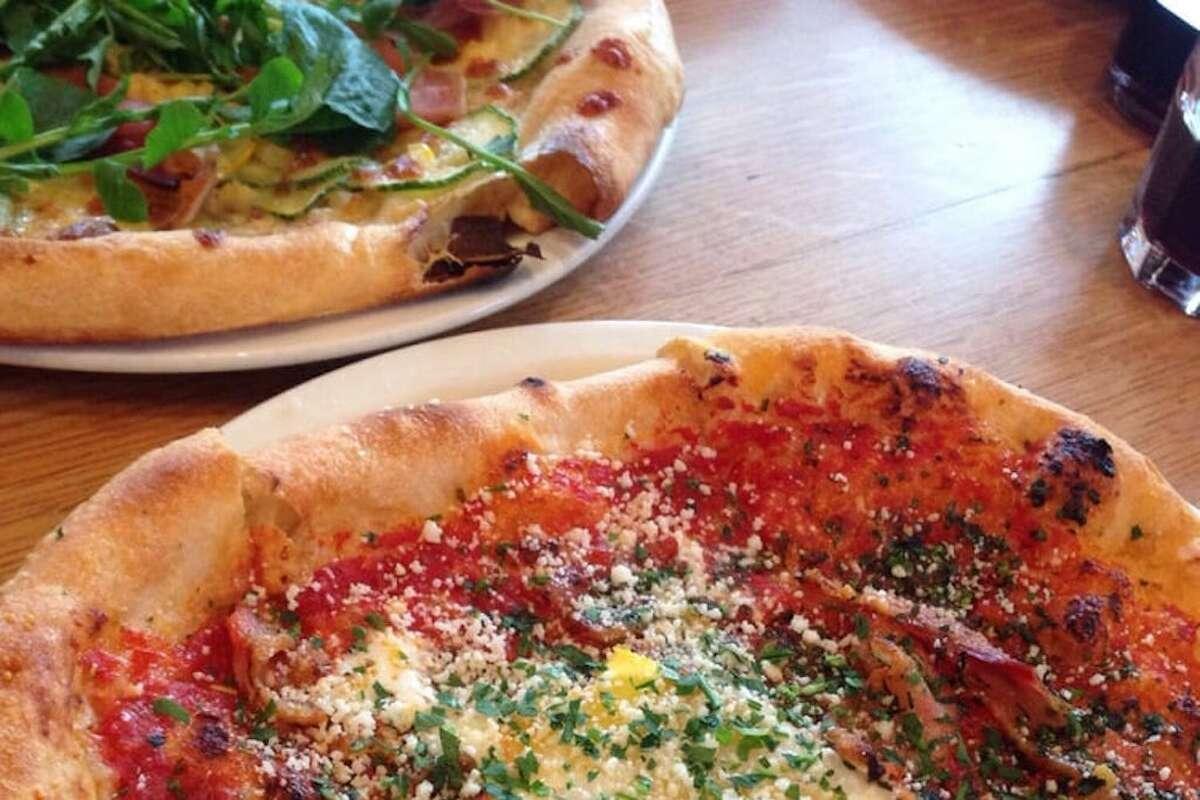 The pizza at Gialina.