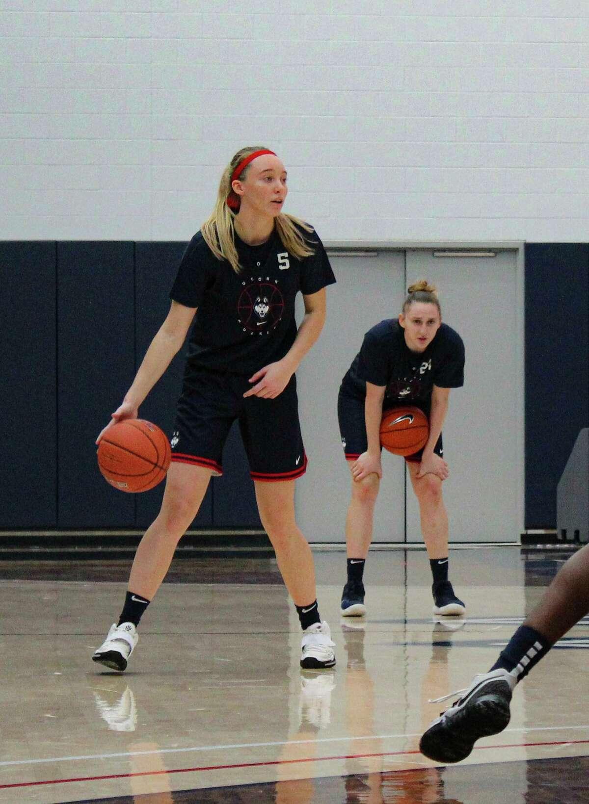 UConn freshman Paige Bueckers.
