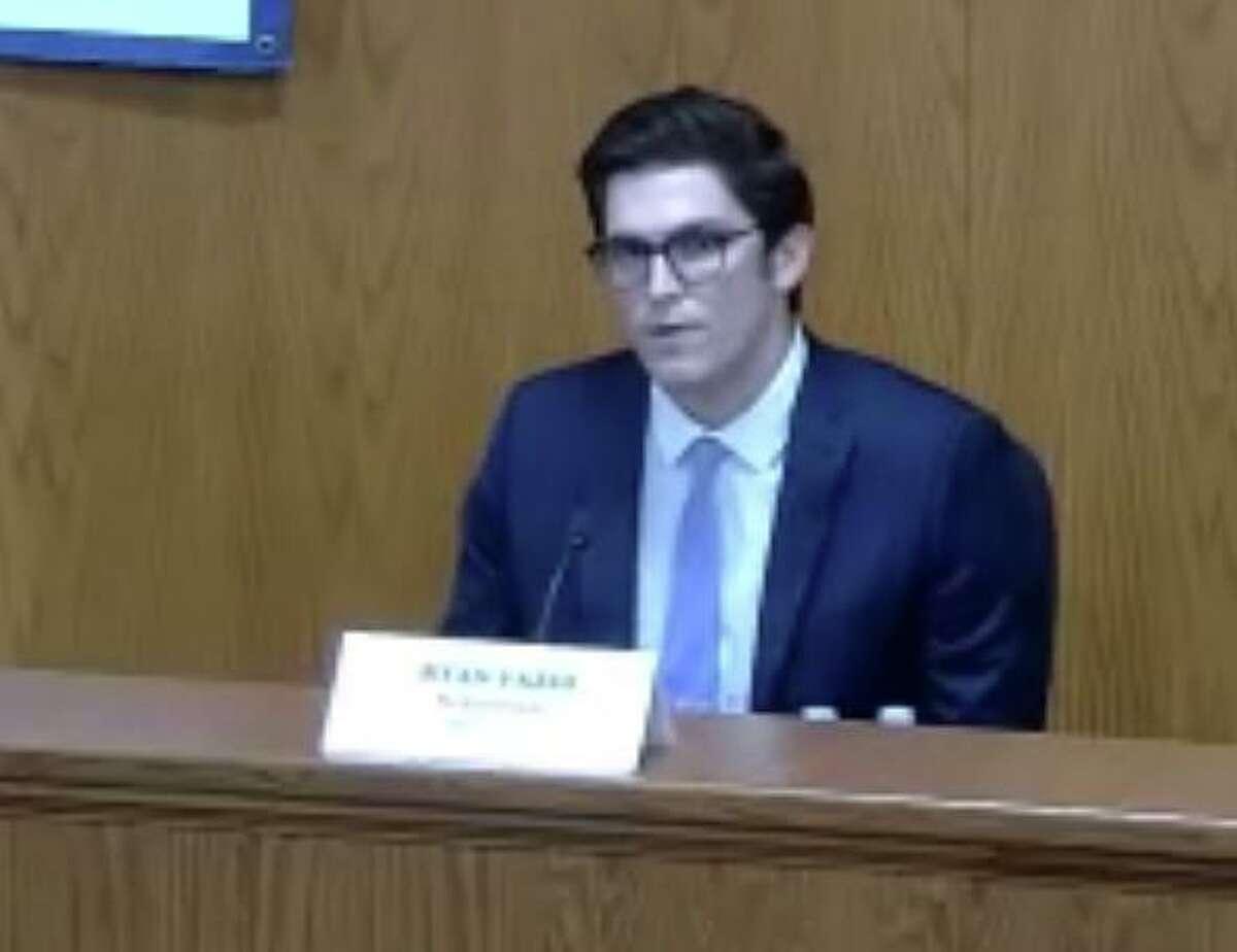 Republican Ryan Fazio is challenging Sen. Alex Kasser, D-Greenwich