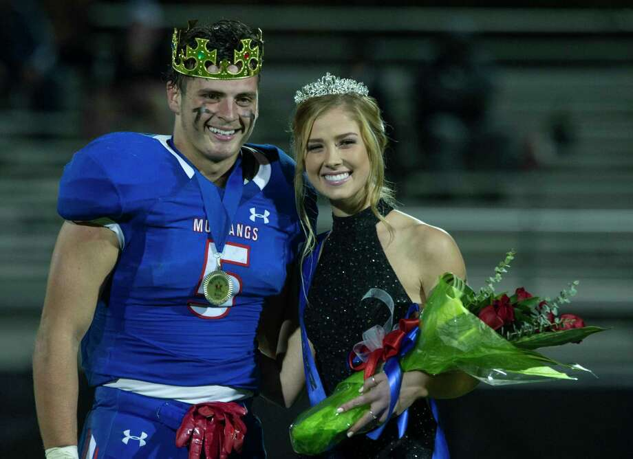 Midland Christian homecoming King, Brad Evans and Queen, Mikayla Dean. 10/30/2020 Tim Fischer/Reporter-Telegram Photo: Tim Fischer, Midland Reporter-Telegram