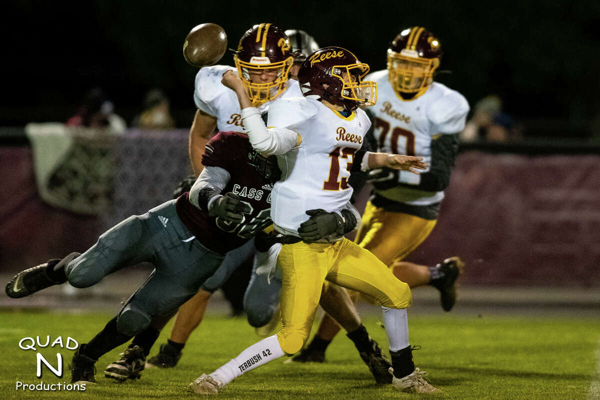 The Cass City varsity football team opened the 2020 playoffs on Friday night with a 36-26 win over Reese.