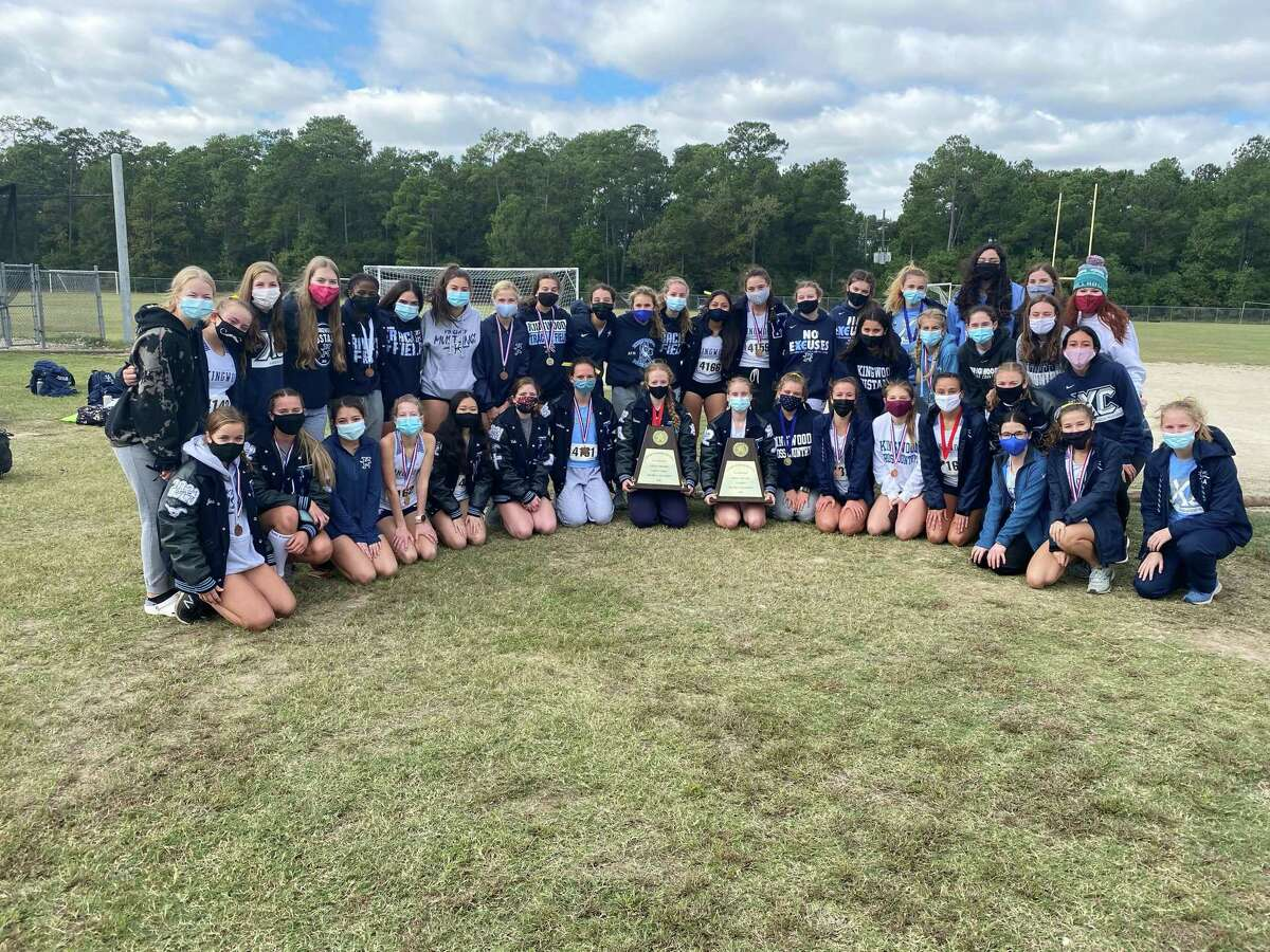 The Kingwood girls cross country team won the District 21-6A meet. The boys finished in second place and will advance to the regional meet.