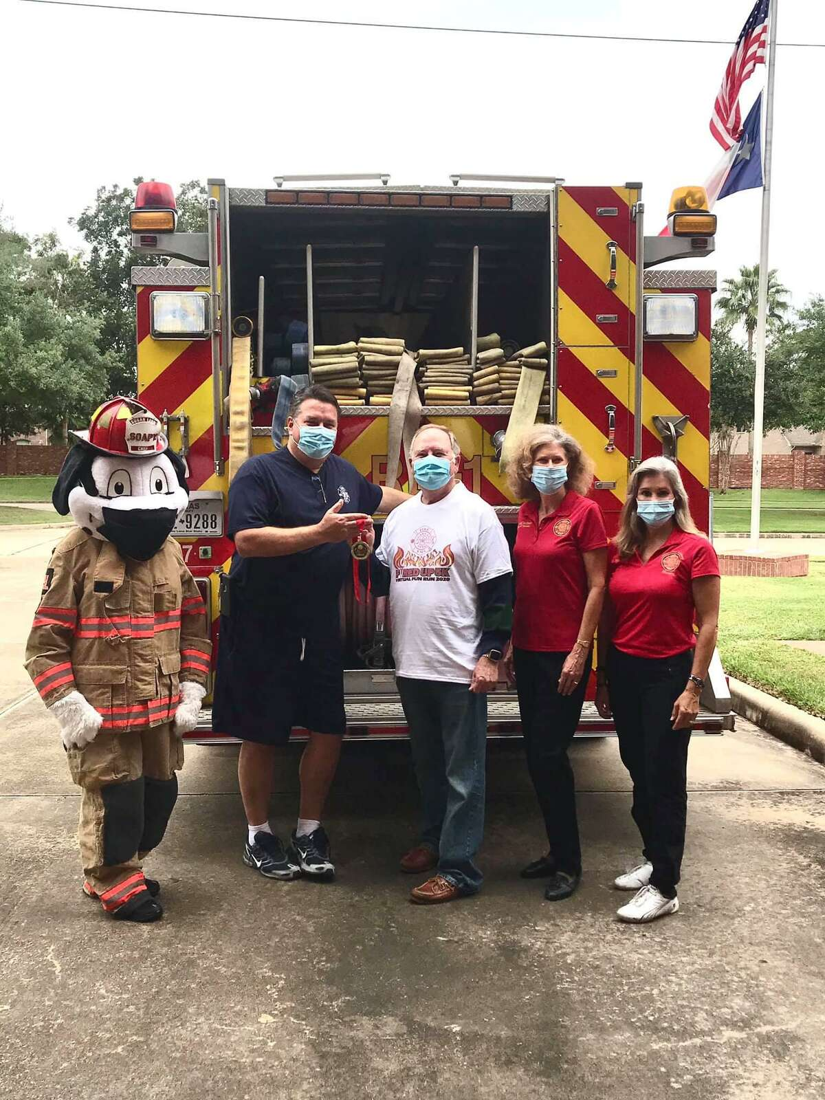 The Citizen's Fire Academy Alumni Association recently hosted a virtual