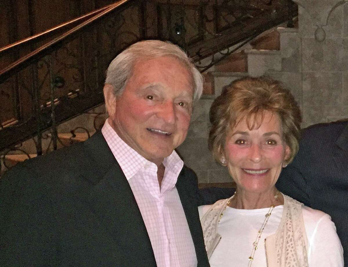 Greenwich residents and TV personalities Judge Jerry and Judge Judy Sheindlin