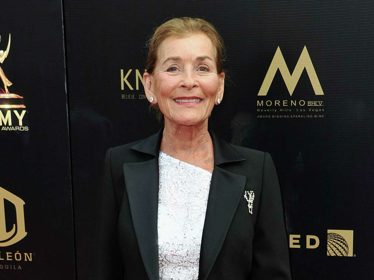 Judge Judy Sheindlin arrives at the 46th annual Daytime Emmy Awards in Pasadena, Calif., on May 5, 2019.