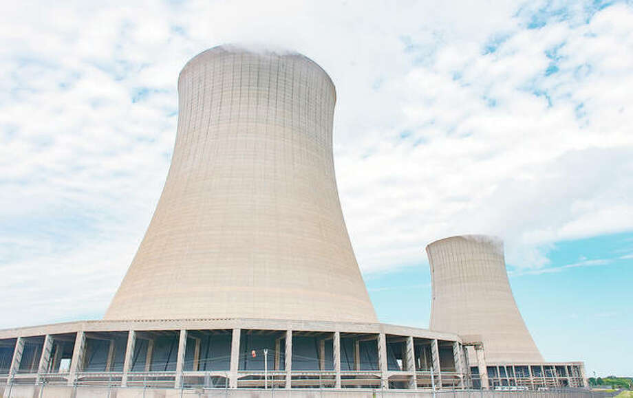 Exelon announced in late August that the company intends to close the Byron Generating Station in September. The Dresden Generating Station in Morris will close in November 2021. Photo: Randy Stukenberg | Rockford Register Star (AP)