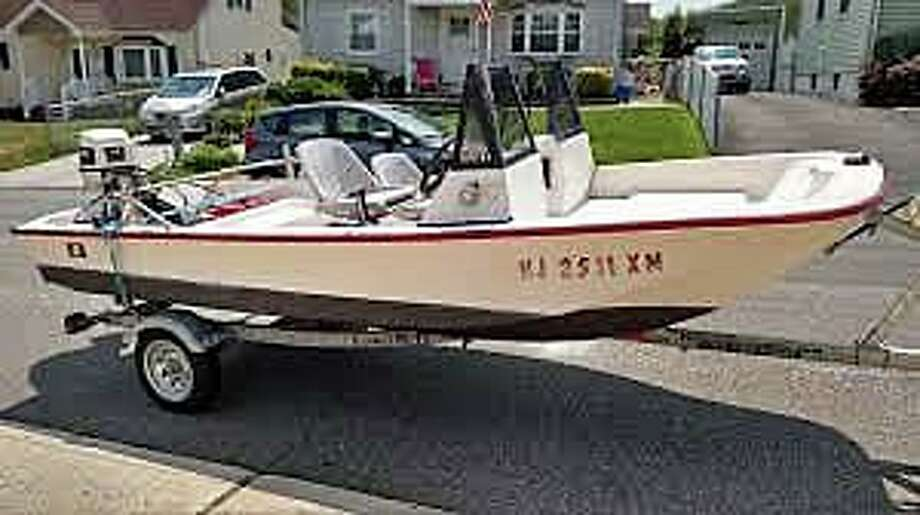 The U.S. Coast Guard is searching for a Groton boater who departed from Groton Elks Lodge and Marina on Friday afternoon on Oct. 30, 2020, but did not return. Matthew Lyon, 49, was reported overdue at 5 p.m. Pictured is a boat similar to Lyon's boat, but his does not have the windshield. Photo: U.S. Coast Guard Photo