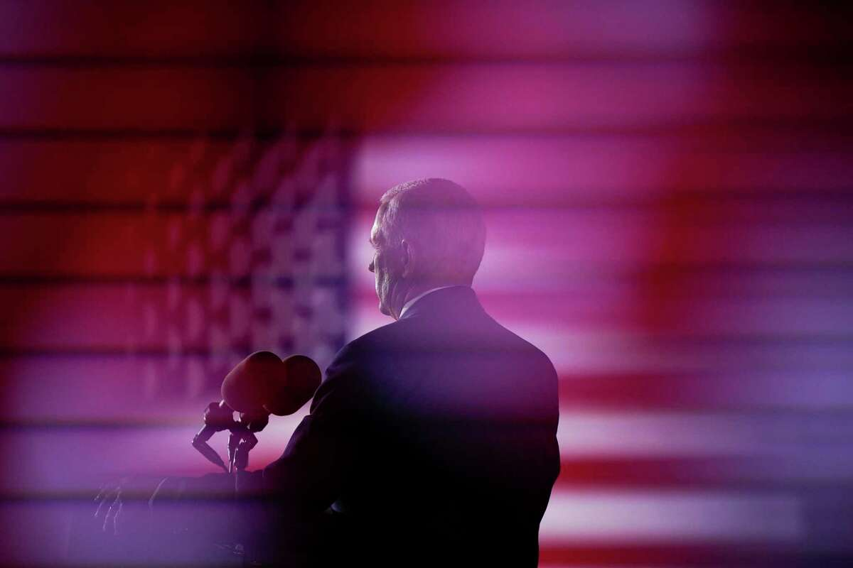 Vice President Pence speaks during the Republican National Convention in August.