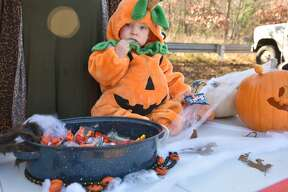 One must look closely on Halloween in case the table decorations suddenly start to move and one realizes that the Jack O'lantern is actually a young Lincoln Pruett in disguise.