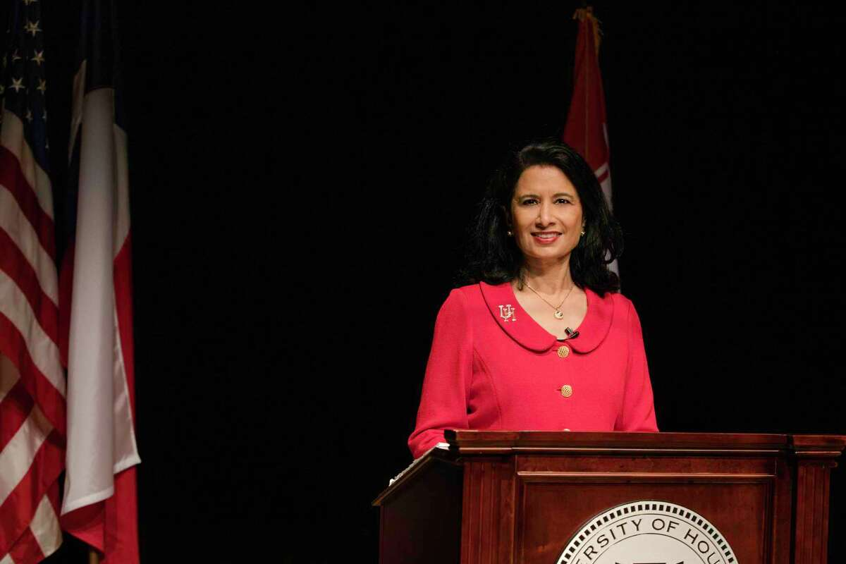 University of Houston System Chancellor and UH President Renu Khator delivers the fall 2020 address.