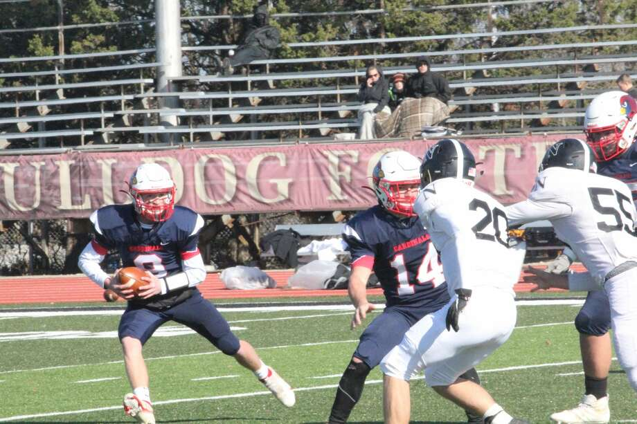 Big Rapids' football team rolled past Newaygo 48-20 in Division 5 district action on Saturday. Photo: John Raffel