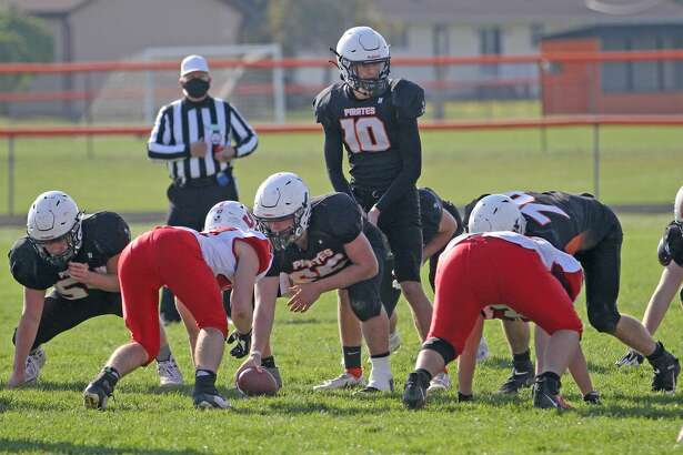 The Harbor Beach varsity football team opened the 2020 MHSAA playoffs with a 28-6 victory over Saginaw Michigan Lutheran Seminary on Saturday afternoon.